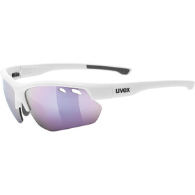 UVEX Sportstyle 115 Glasses, white/pink